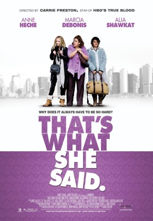 That's What She Said (2012) DVD Release Date