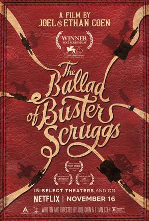 The Ballad of Buster Scruggs (2018) DVD Release Date