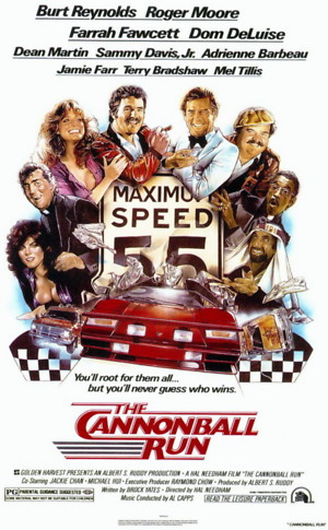 The Cannonball Run (1981) DVD Release Date
