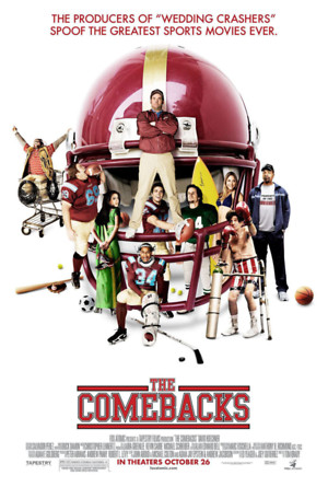 The Comebacks (2007) DVD Release Date