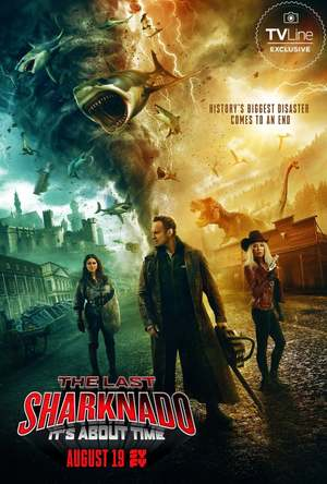 The Last Sharknado: It's About Time (TV Movie 2018) DVD Release Date