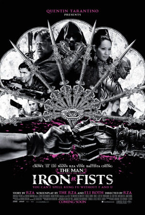 The Man with the Iron Fists (2012) DVD Release Date