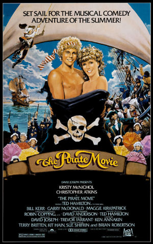The Pirate Movie (1982) DVD Release Date