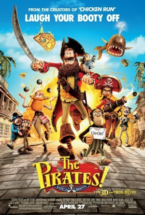 The Pirates! Band of Misfits (2012) DVD Release Date