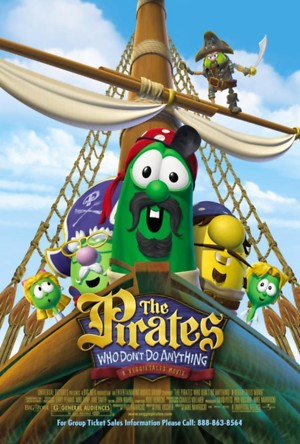 The Pirates Who Don't Do Anything: A VeggieTales Movie (2008) DVD Release Date