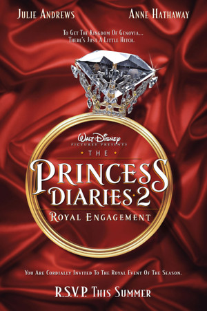 The Princess Diaries 2: Royal Engagement (2004) DVD Release Date