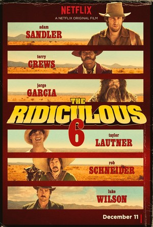 The Ridiculous 6 (2015) DVD Release Date