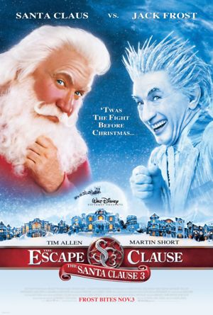 The Santa Clause 3: The Escape Clause (2006) DVD Release Date