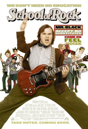 The School of Rock (2003) DVD Release Date