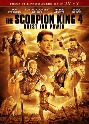 The Scorpion King 4: Quest for Power (Video 2015) DVD Release Date