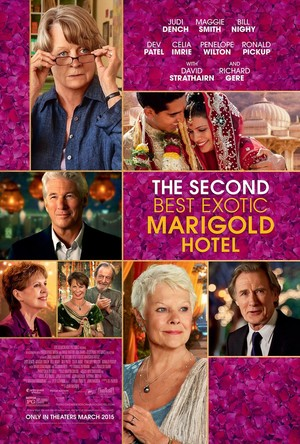 The Second Best Exotic Marigold Hotel (2015) DVD Release Date