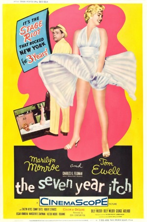The Seven Year Itch (1955) DVD Release Date