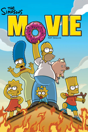 The Simpsons Movie (2007) DVD Release Date