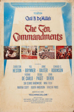 The Ten Commandments (1956) DVD Release Date