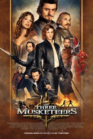 The Three Musketeers (2011) DVD Release Date