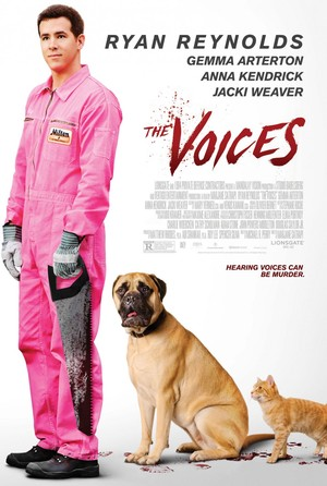 The Voices (2014) DVD Release Date