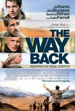 The Way Back (2010) DVD Release Date