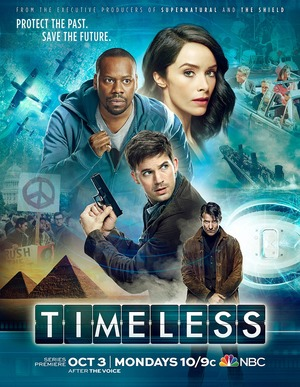Timeless (TV Series 2016- ) DVD Release Date