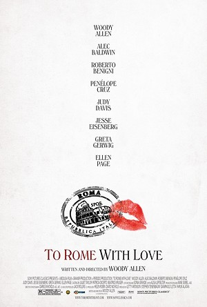 To Rome with Love (2012) DVD Release Date