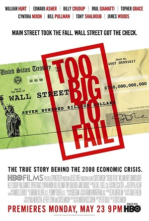 Too Big to Fail (2011) DVD Release Date