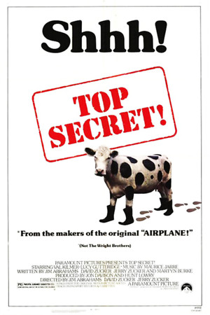 Top Secret! (1984) DVD Release Date