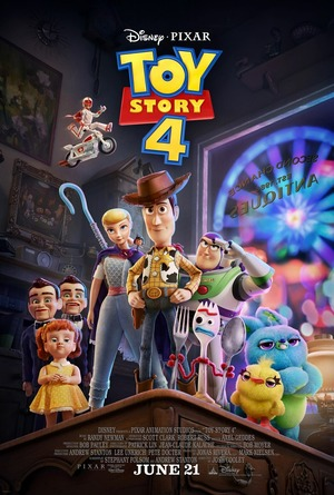 Toy Story 4 DVD Release Date October 8, 2019