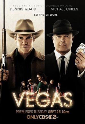 Vegas (TV Series 2012-2013) DVD Release Date