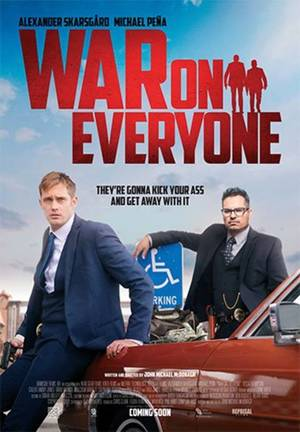 War on Everyone (2016) DVD Release Date