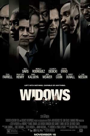 Widows (2018) DVD Release Date