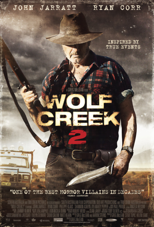 Wolf Creek 2 (2013) DVD Release Date