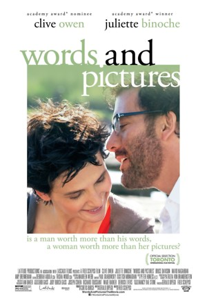 Words and Pictures (2013) DVD Release Date