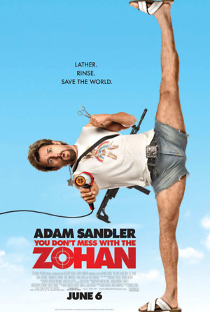 You Don't Mess with the Zohan (2008) DVD Release Date