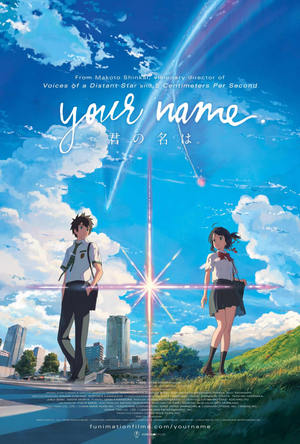Your Name (2016) DVD Release Date
