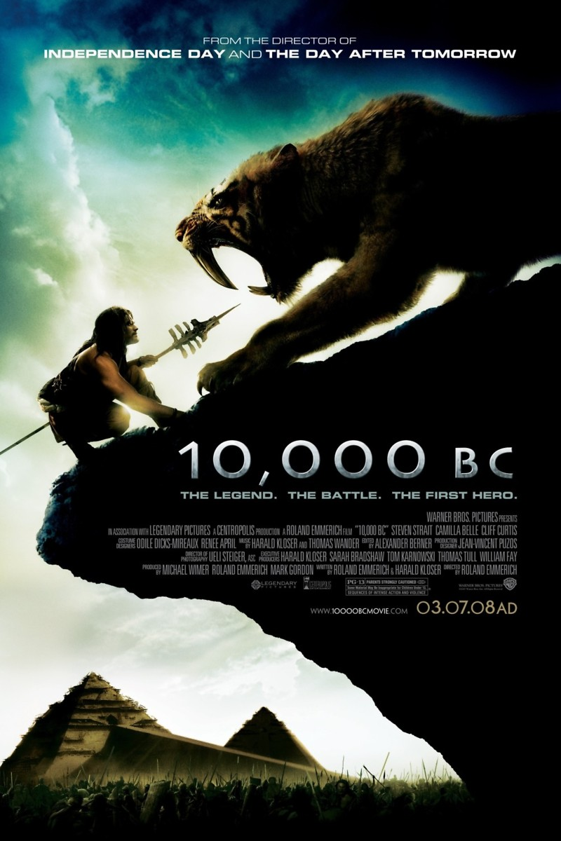 10000 bc dvd release date june 24 2008