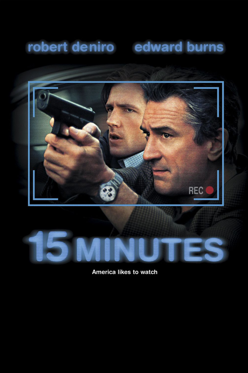 15 Minutes DVD Release Date August 14, 2001