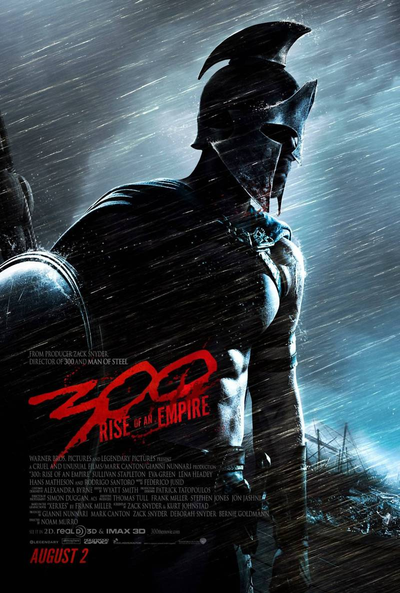 300 rise of an empire dvd release date canada