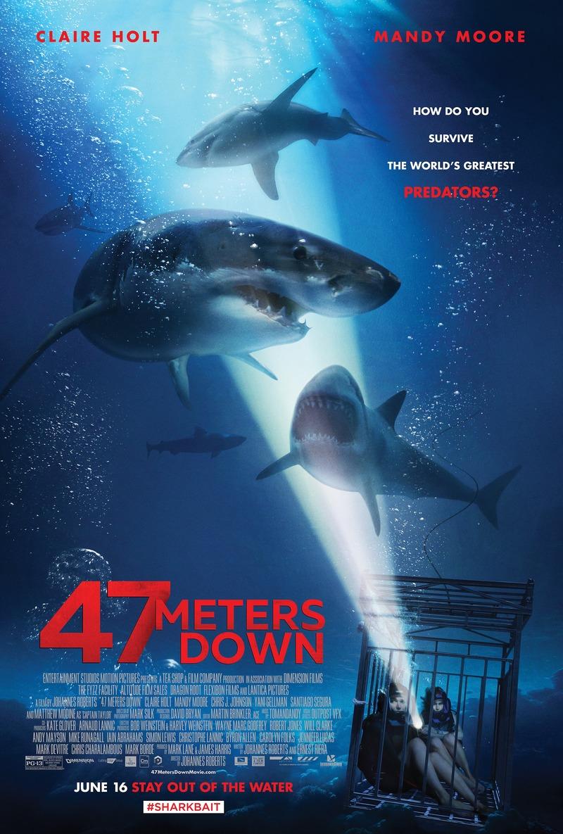 47 Meters Down DVD Release Date September 26, 2017