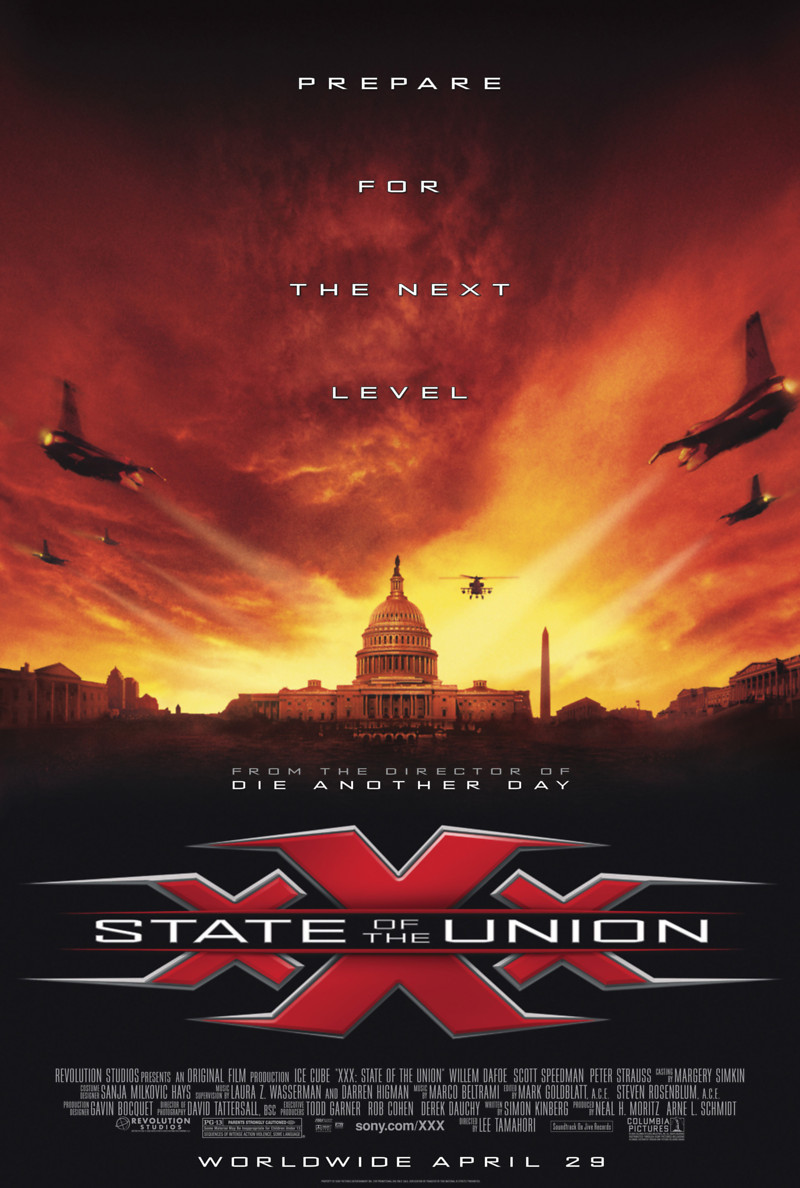 Course, Xxx state of the union ost cunt hardly