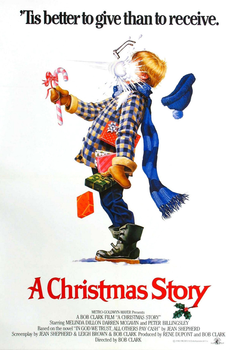 A Christmas Story (1983) DVD Release Date. Movie Poster