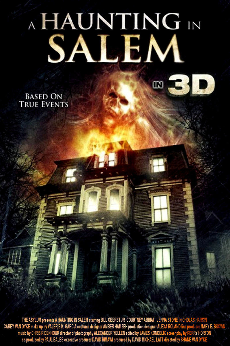 A Haunting in Salem DVD Release Date October 4, 2011