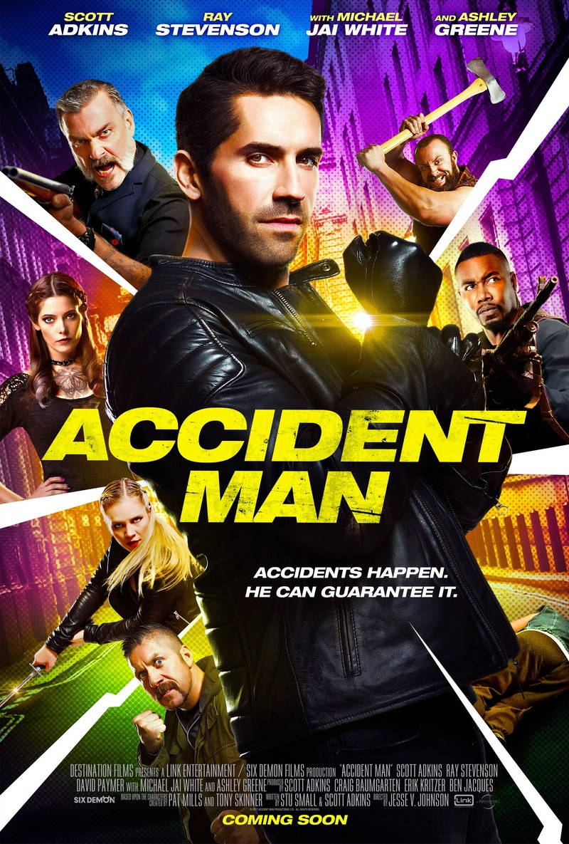 6 July 2018 Released Movie: Accident Man DVD Release Date February 6, 2018