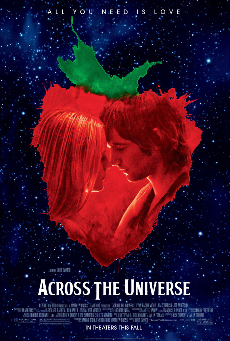 across the universe dvd release date february 5 2008