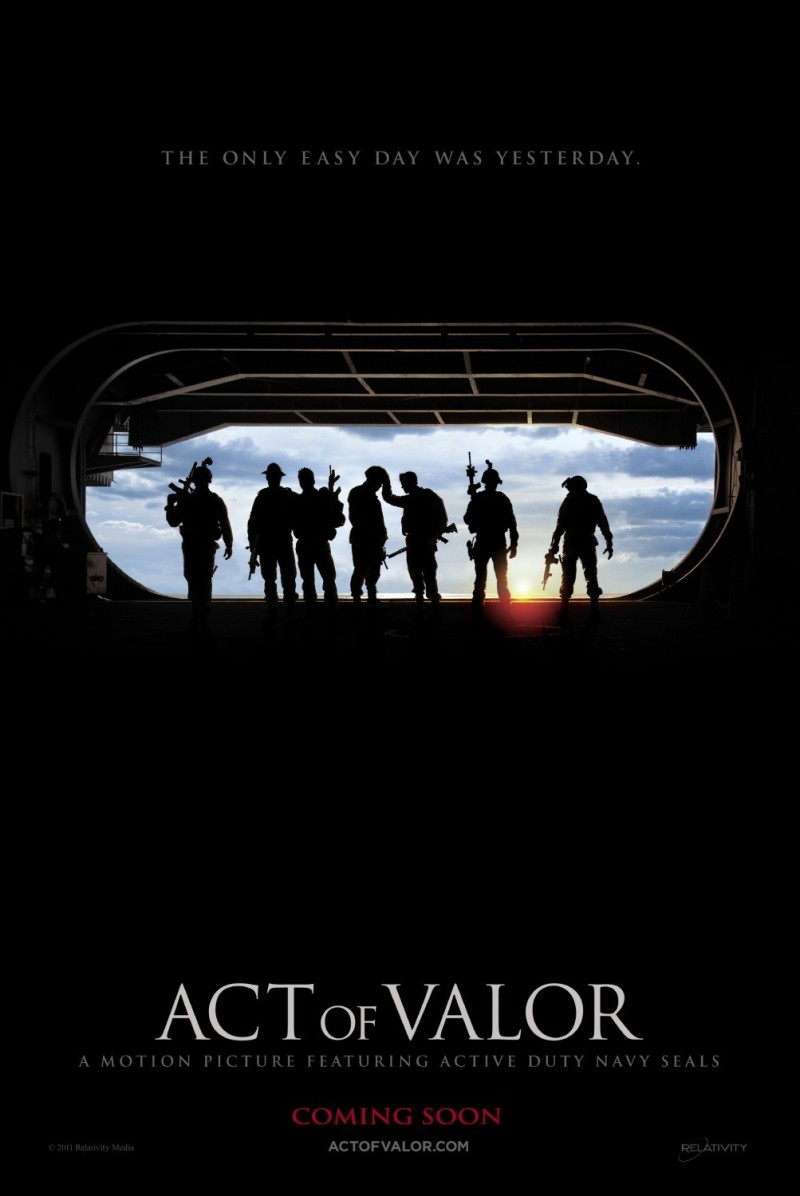 Act of Valor DVD Release Date