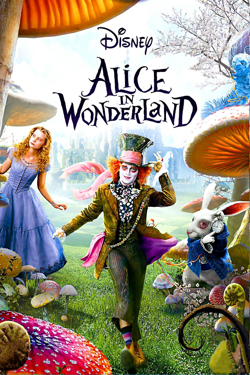 Alice In Wonderland Dvd Release