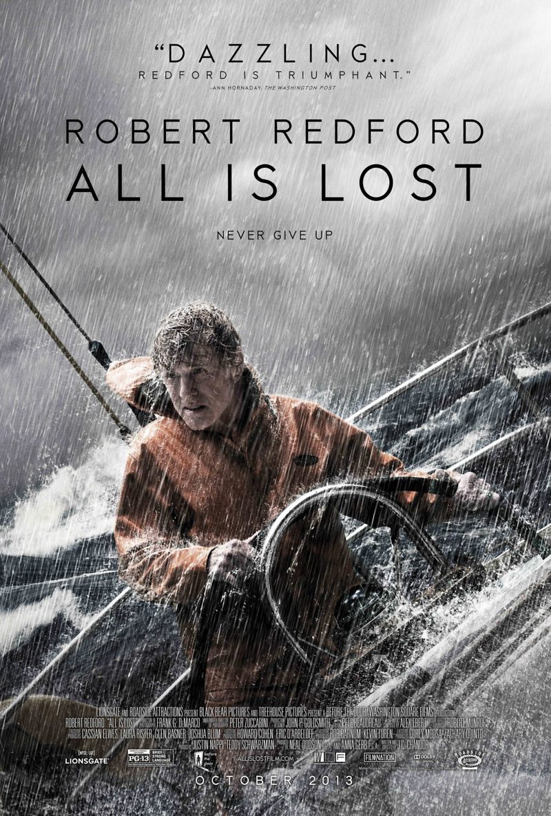 All Is Lost DVD Release Date February 11, 2014