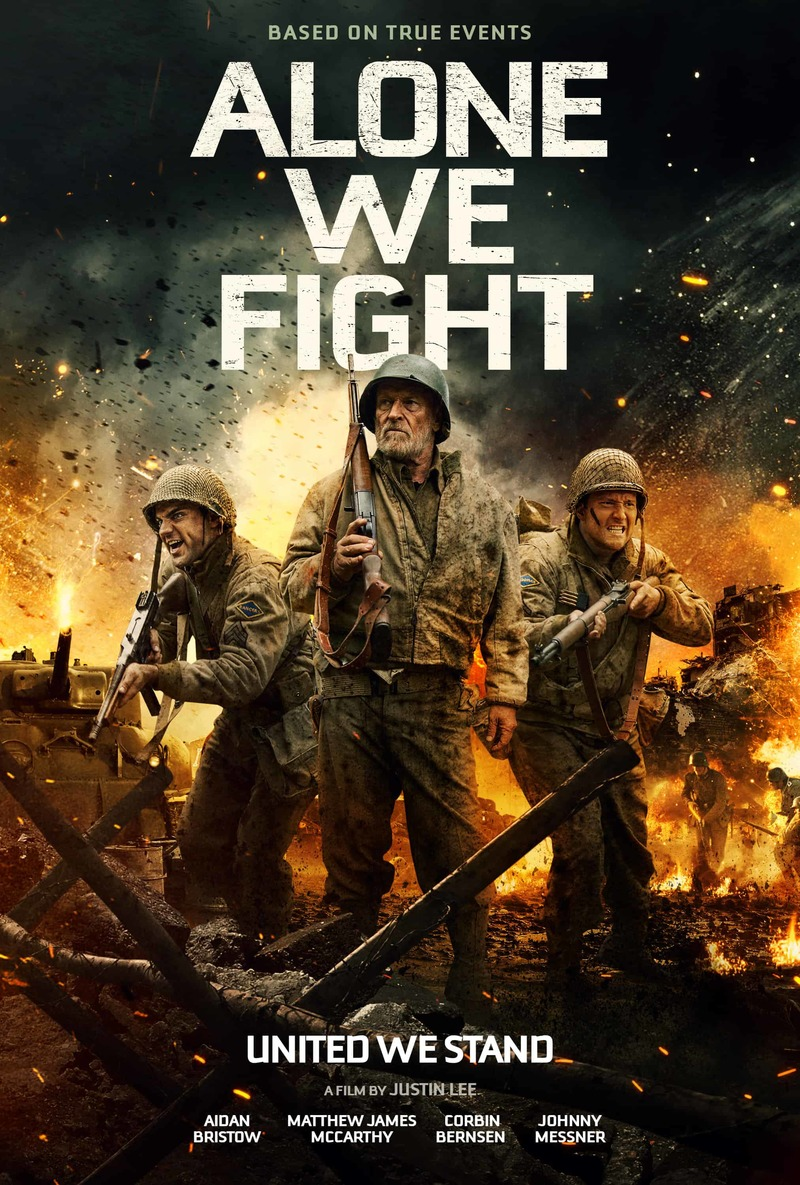 6 July 2018 Released Movie: Alone We Fight DVD Release Date November 6, 2018