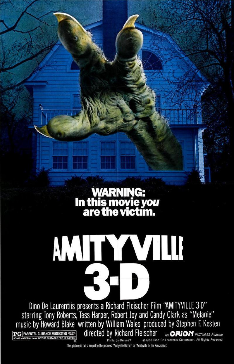 Amityville 3-D DVD Release Date