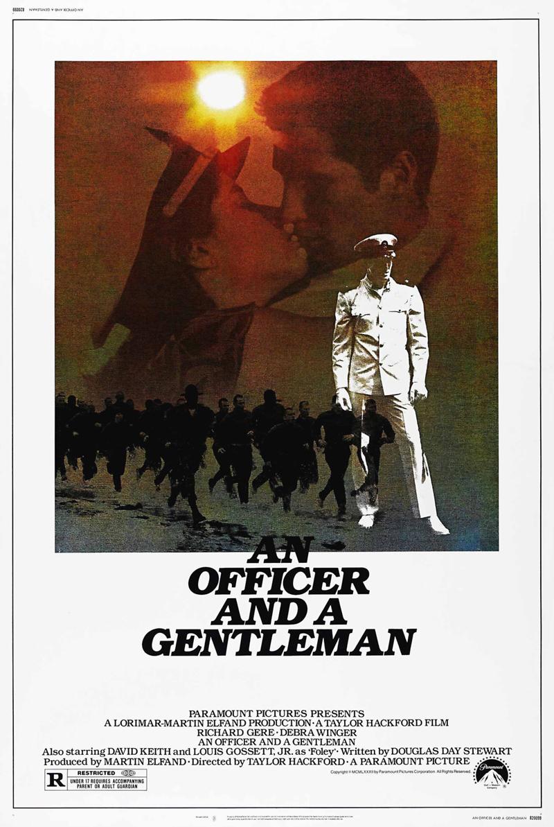 An Officer And A Gentleman Dvd Release Date