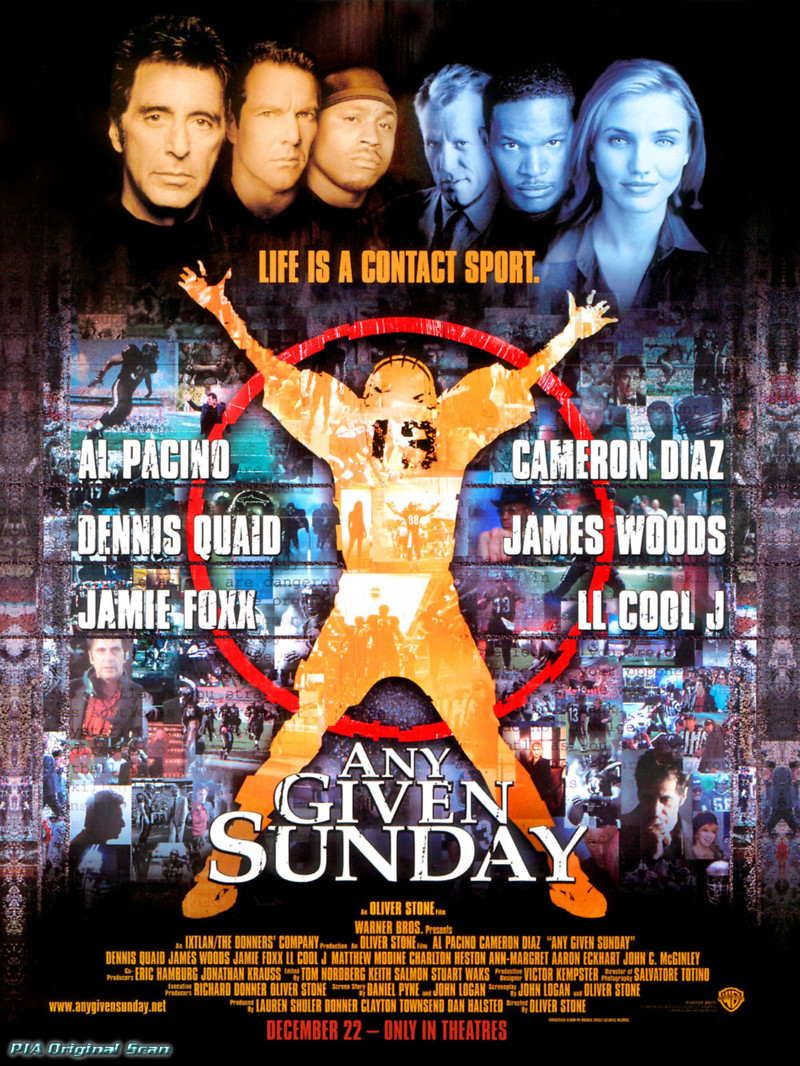 any given sunday dvd release date september 1 2000