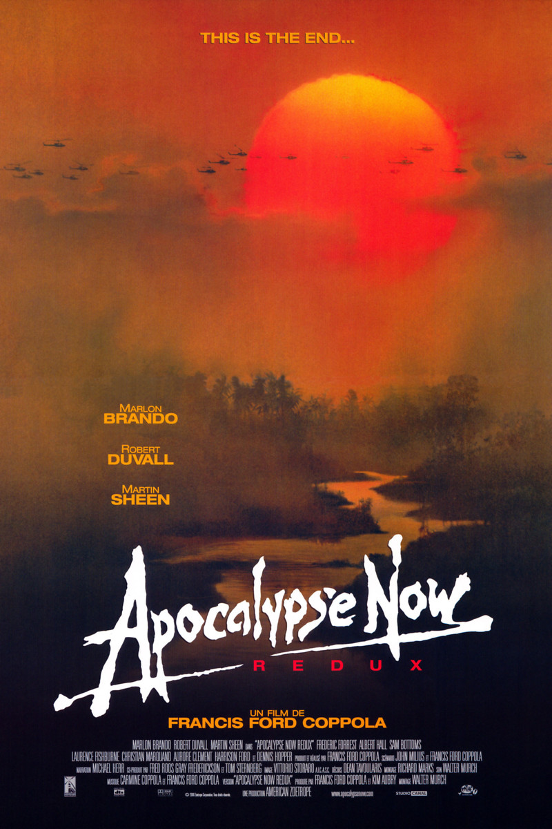 Fred Martin Ford >> Apocalypse Now DVD Release Date